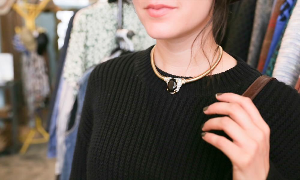 necklace-choker-buttons-bows-dtla